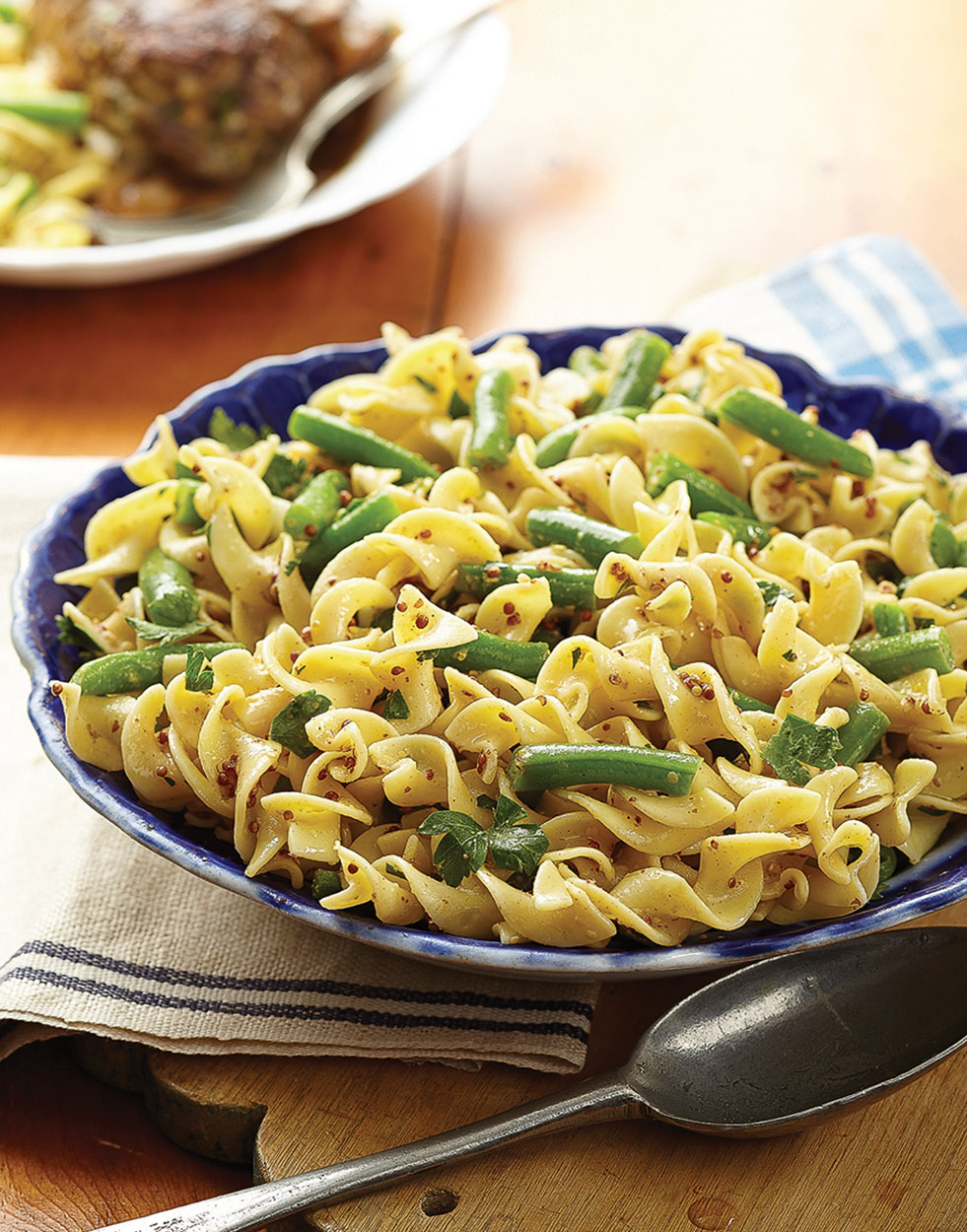 Mustard Egg Noodles Recipe