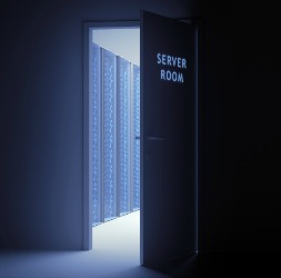 Server room ghost
