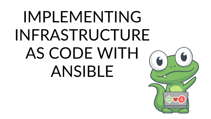 infrastructure as code, IaC