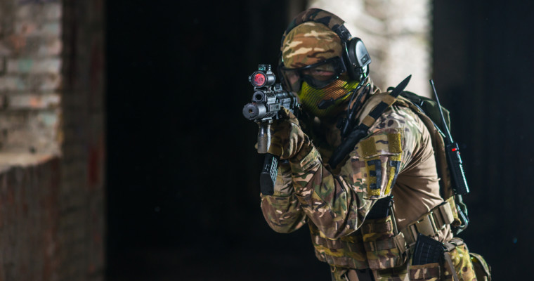 Airsoft shooting in Budapest - Pissup Stag