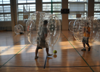 Bubble Football & Arrow Tag