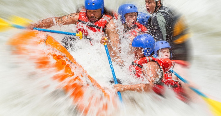 White water rafting in Krakow