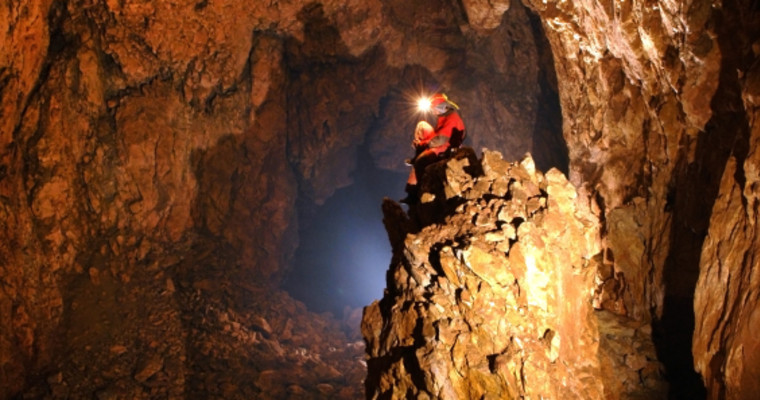 Caving in Budapest - Pissup Stag Do