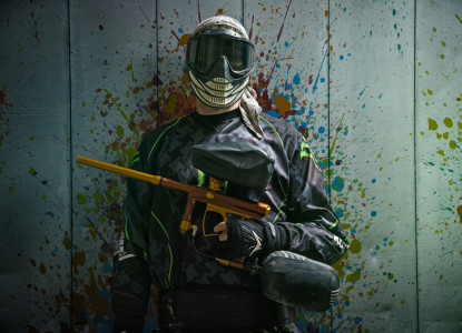 Indoor-Paintball (200 Kugeln)