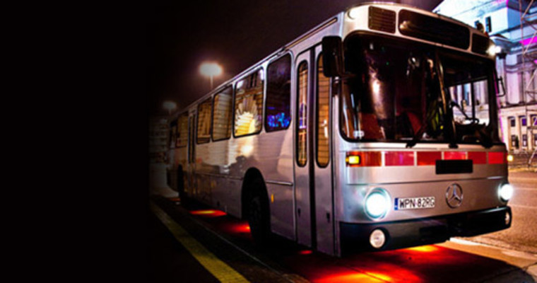 Gdansk Pissup Party Bus Supplied