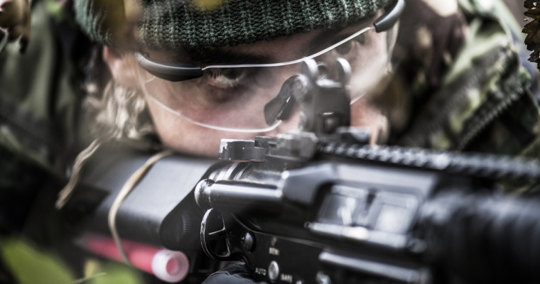 Airsoft Shooting in Bratislava for Stag Dos