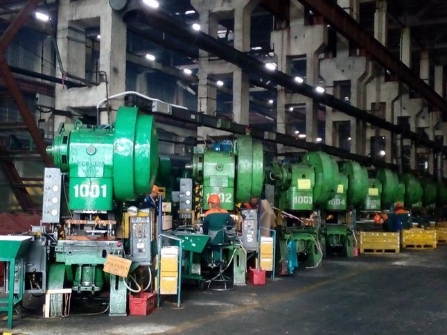 На тольяттинском заводе благодаря нацпроекту увеличилась выработка выпускаемой продукции