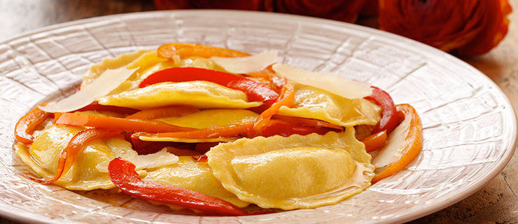 Recipes Italian Sausage Ravioli With Peppers And Onions