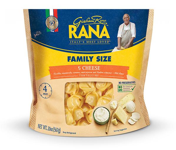 5 Cheese Tortellini Giovanni Rana