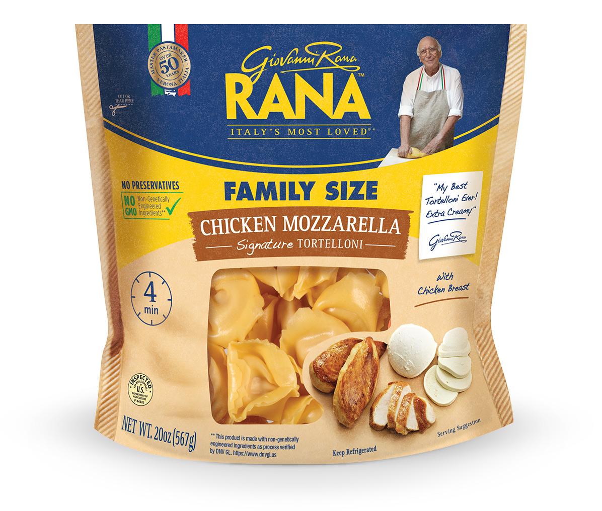 Chicken Mozzarella Tortelloni
