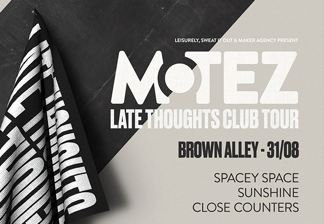 Motez 'Late Thoughts' Tour