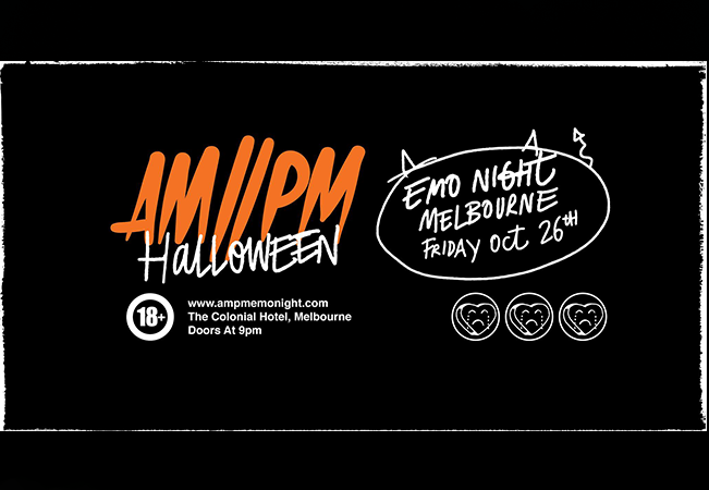 AM//PM Emo Night Halloween - Melbourne