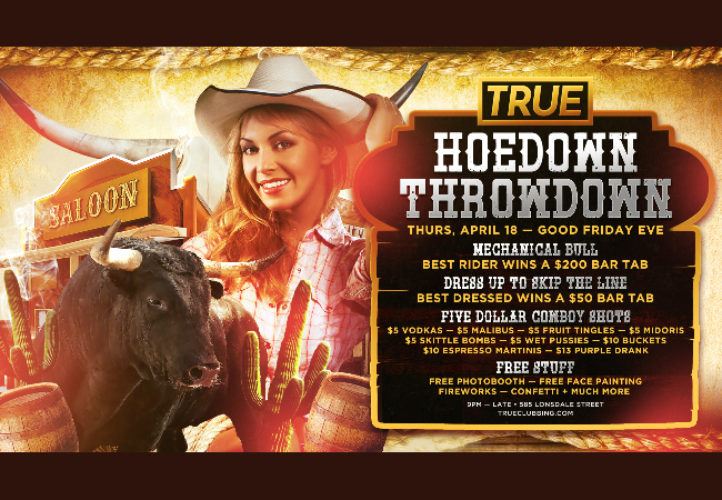 Hoedown Throwdown - Good Friday Eve