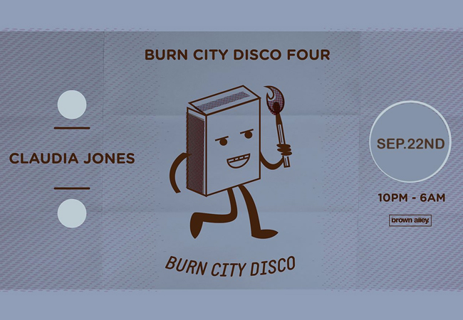 Burn City Disco Four - Claudia Jones (Live)