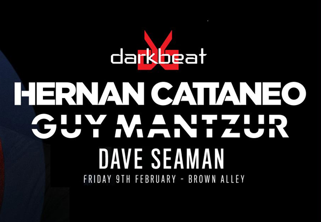 Darkbeat with Hernan Cattaneo B2B Guy Mantzur All Night + Dave Seaman