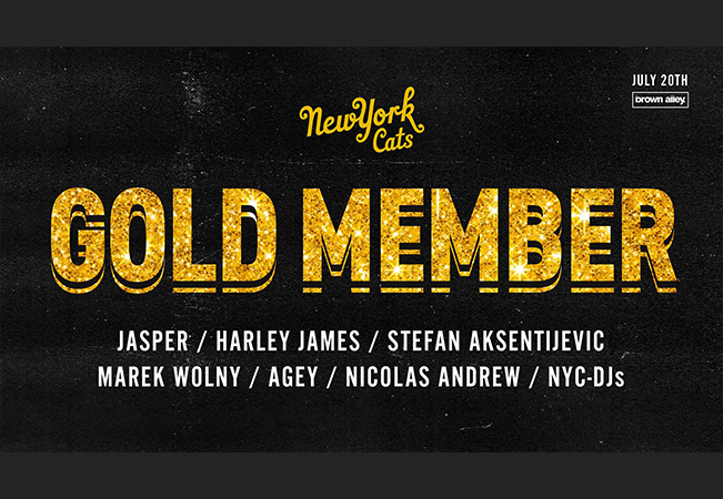 NYC - GOLD Party!