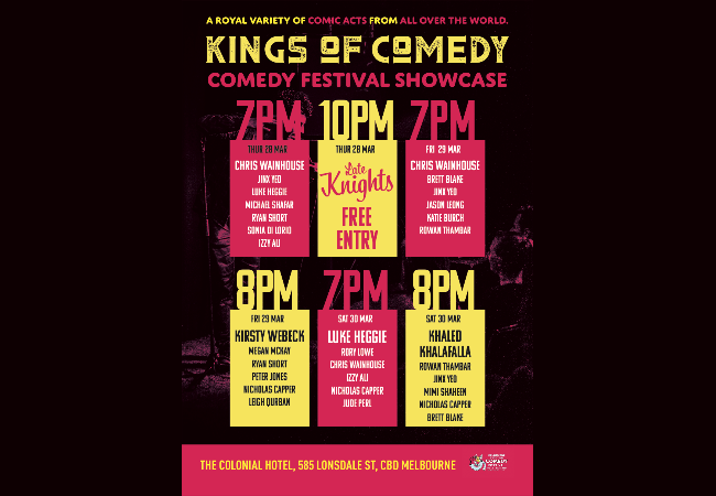 Kings Of Comedy - Comedy Festival Showcase