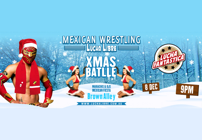 Lucha Libre Christmas Battle
