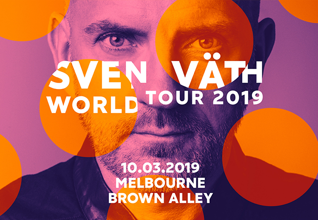 Brown Alley & Novel presents Sven Väth