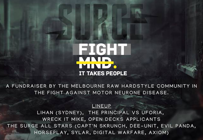 SURGE - The Fundraiser to Fight MND