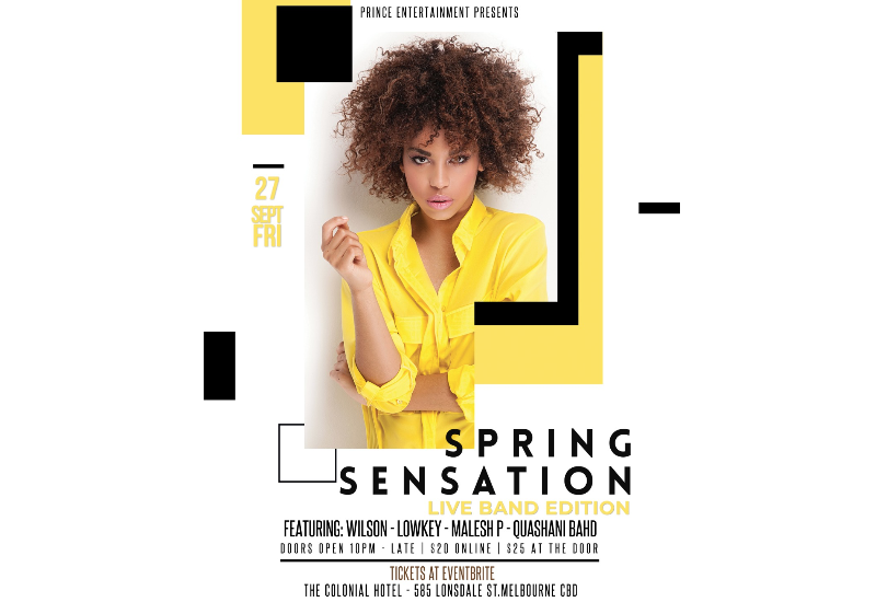 GRAND FINAL SPRING SENSATION (LIVE BAND MUSICAL)