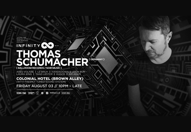 Infinity ∞ feat Thomas Schumacher (Electric Ballroom/Noir Music)