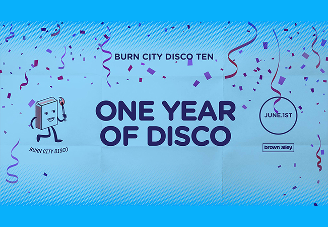 Burn City Disco Ten - One Year Of Disco