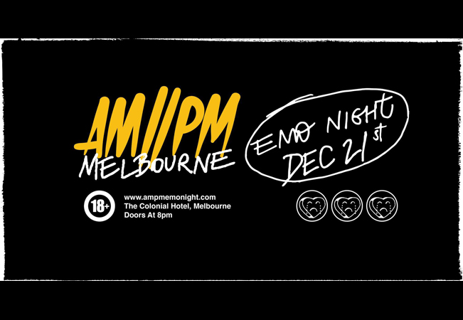AM//PM Emo Night Melbourne