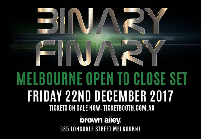 Binary Finary - Open To Close