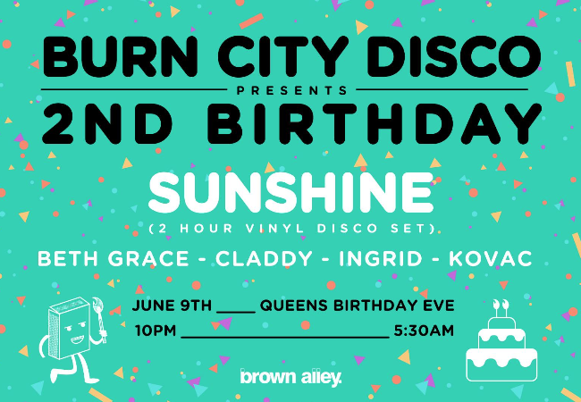Burn City Disco 2nd Birthday