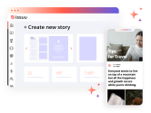 Create visual stories to share from Issuu