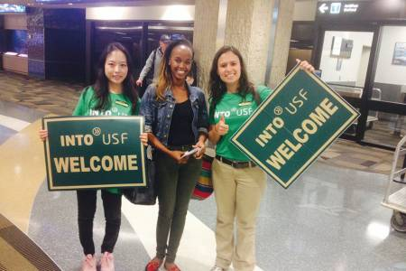 Welcome from INTO USF at Tampa airport