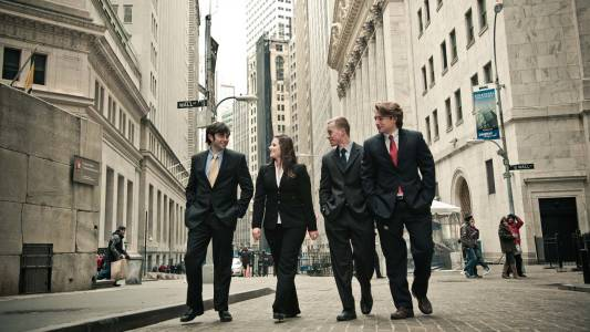Study on Wall Street in New York City at Drew University