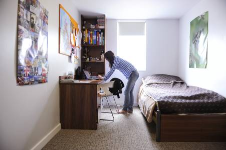 INTO UEA - Private study bedroom