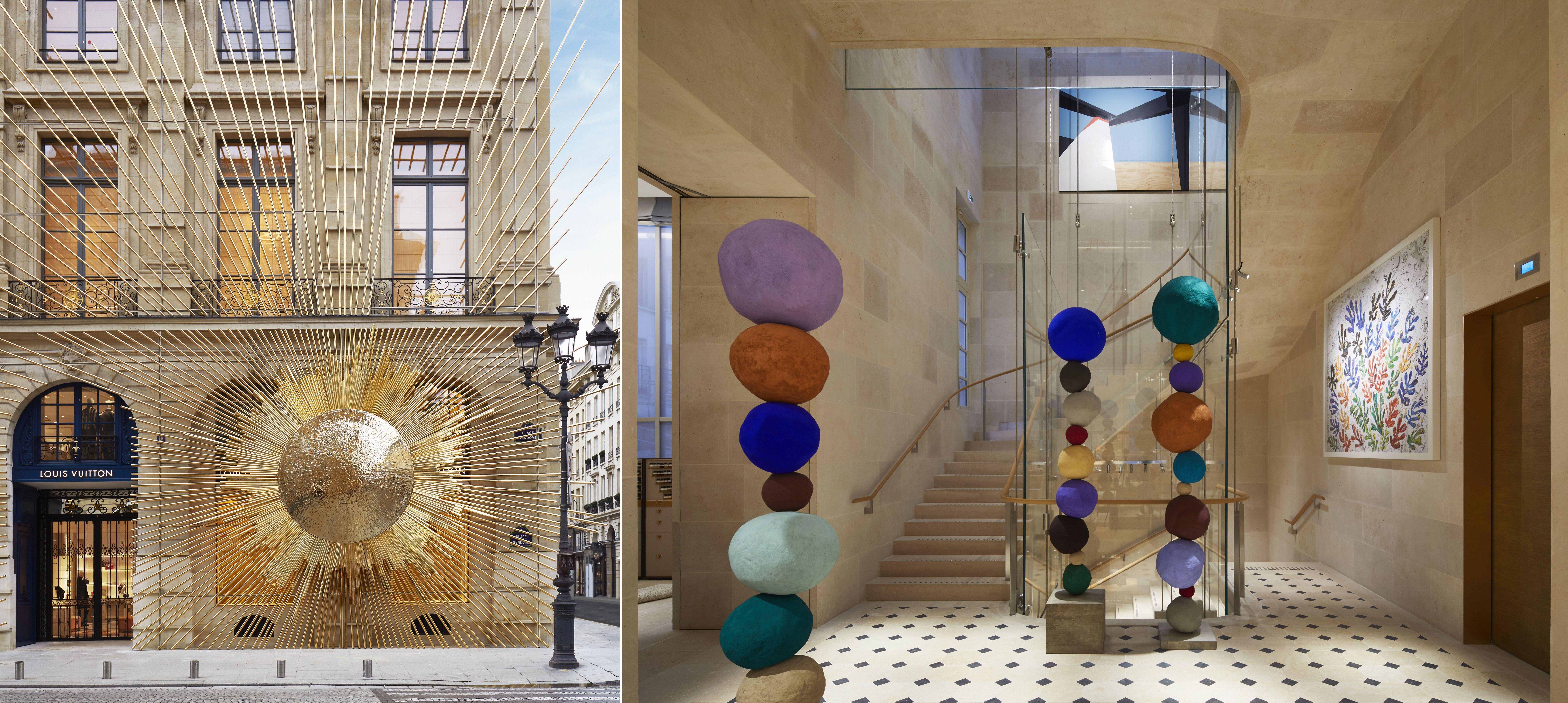 3469976af347 Maison Louis Vuitton Vendôme  Luxurious shopping and design museum