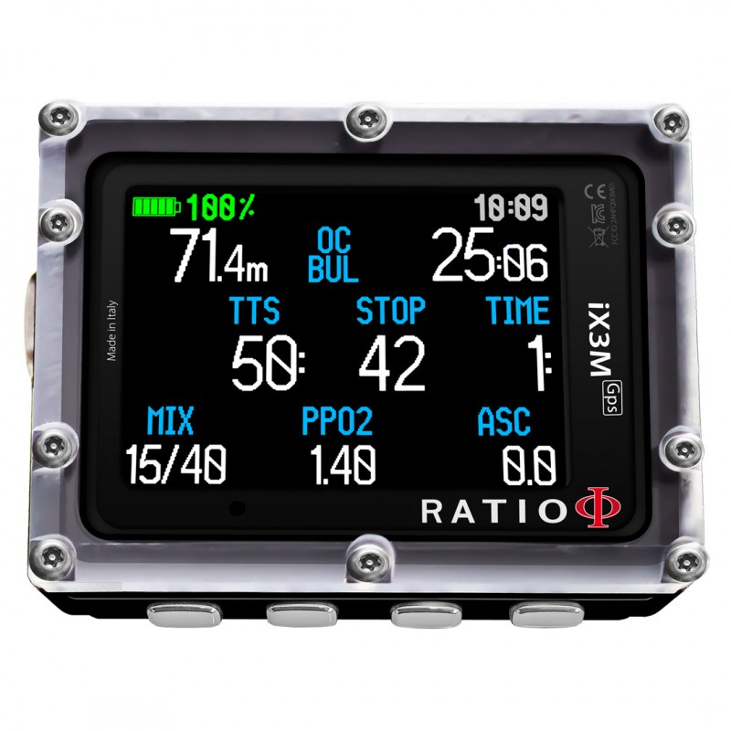 iX3M [GPS] Tech+
