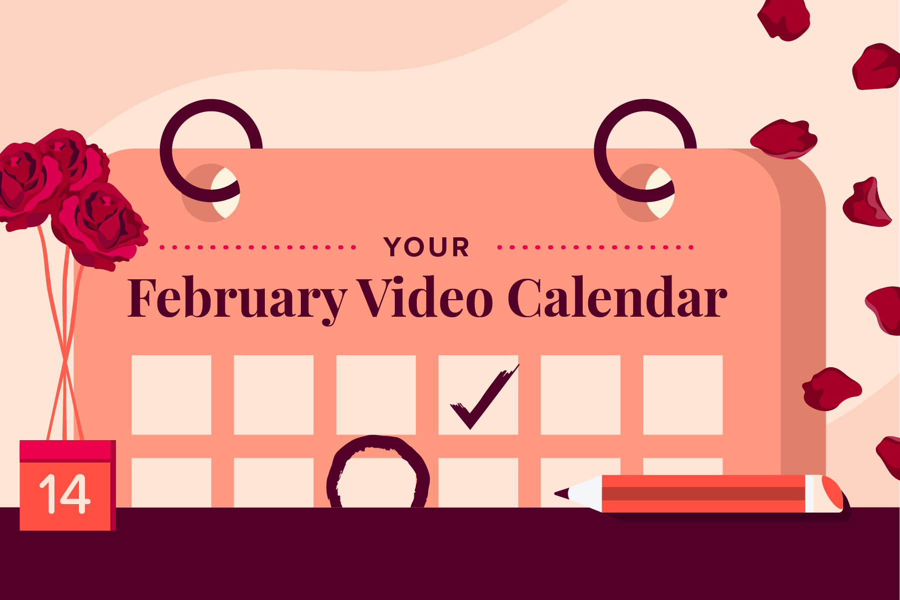 February Social Holidays to Celebrate with Video