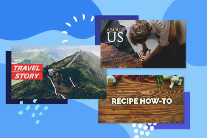 Facebook Video Templates to Customize for Your Feed