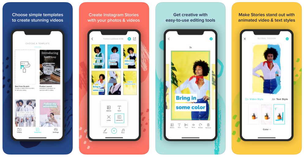 Easy Instagram Story Editor for iOS - Animoto