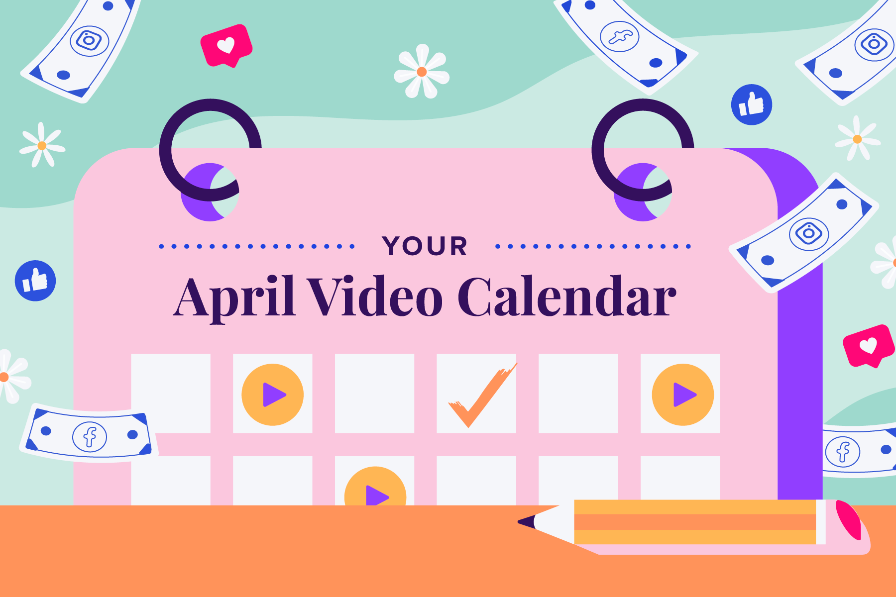 2021-03 Engagement-Email April Calendar Blog