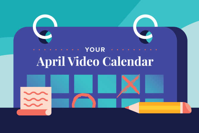 April Social Holidays to Celebrate with Video