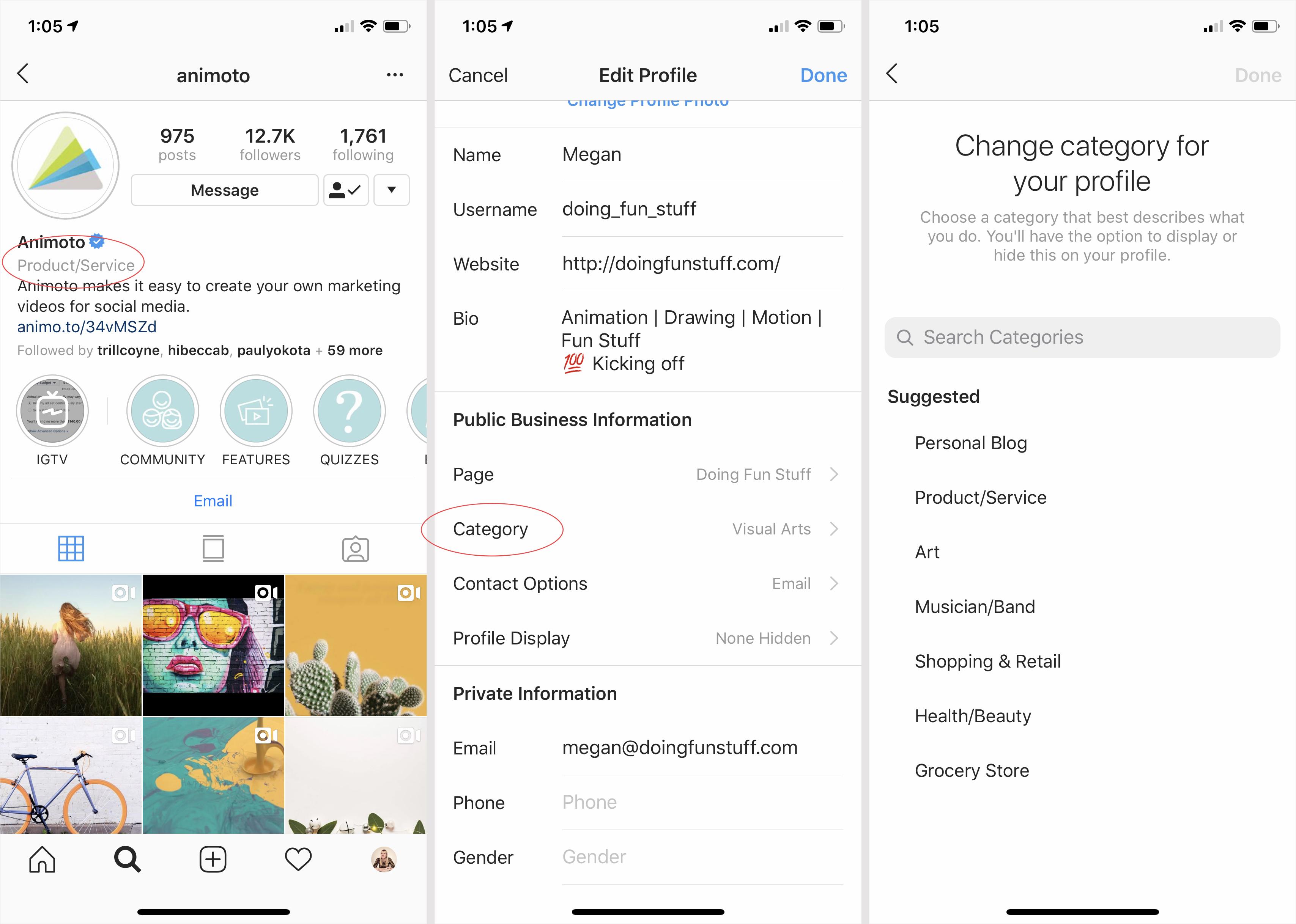 instagram-business-categories-update