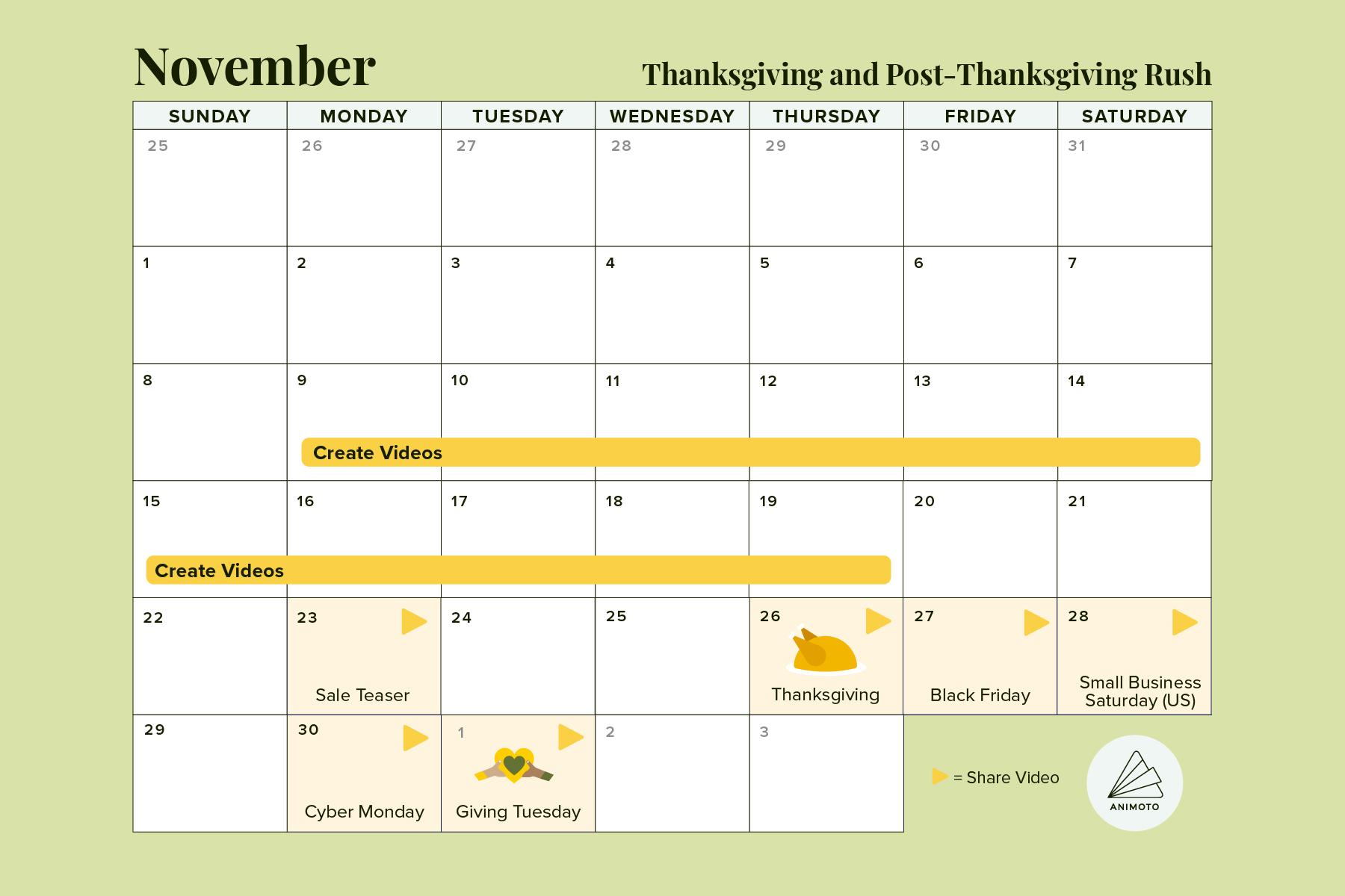 2020-Holiday-Calendar thanksgiving