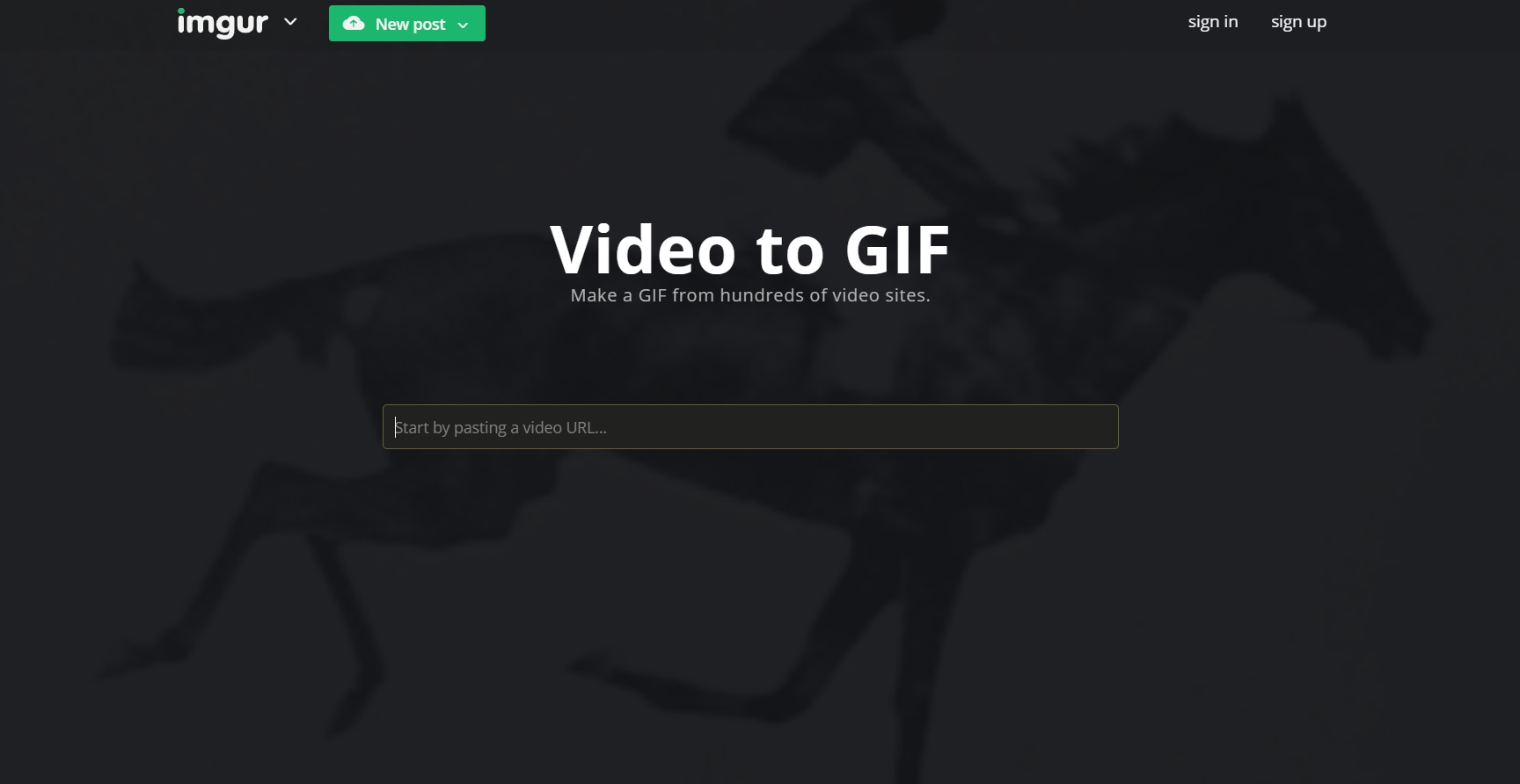 How to turn an Imgur video into a GIF