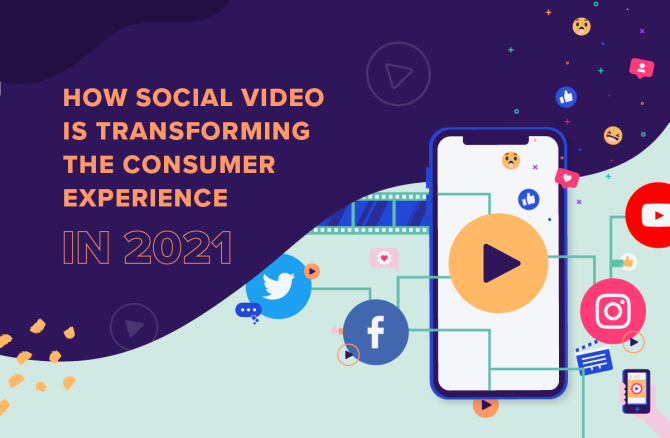 How Social Video Is Transforming the Consumer Experience in 2021 [Infographic]