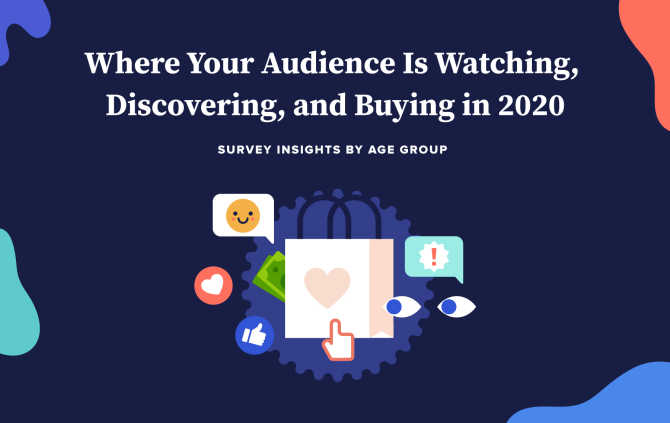 Where Your Audience Is Watching, Discovering, and Buying in 2020 [Infographic]