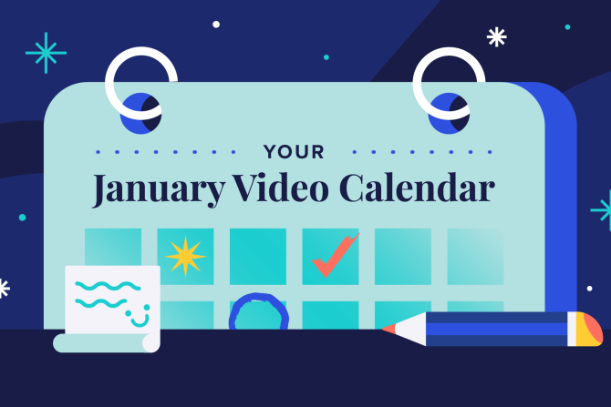 January Social Holidays to Celebrate with Video