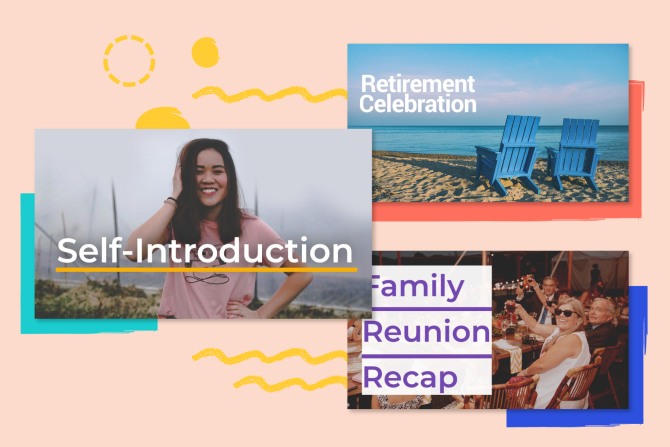 New Templates! Celebrate Family, Retirement, and Yourself