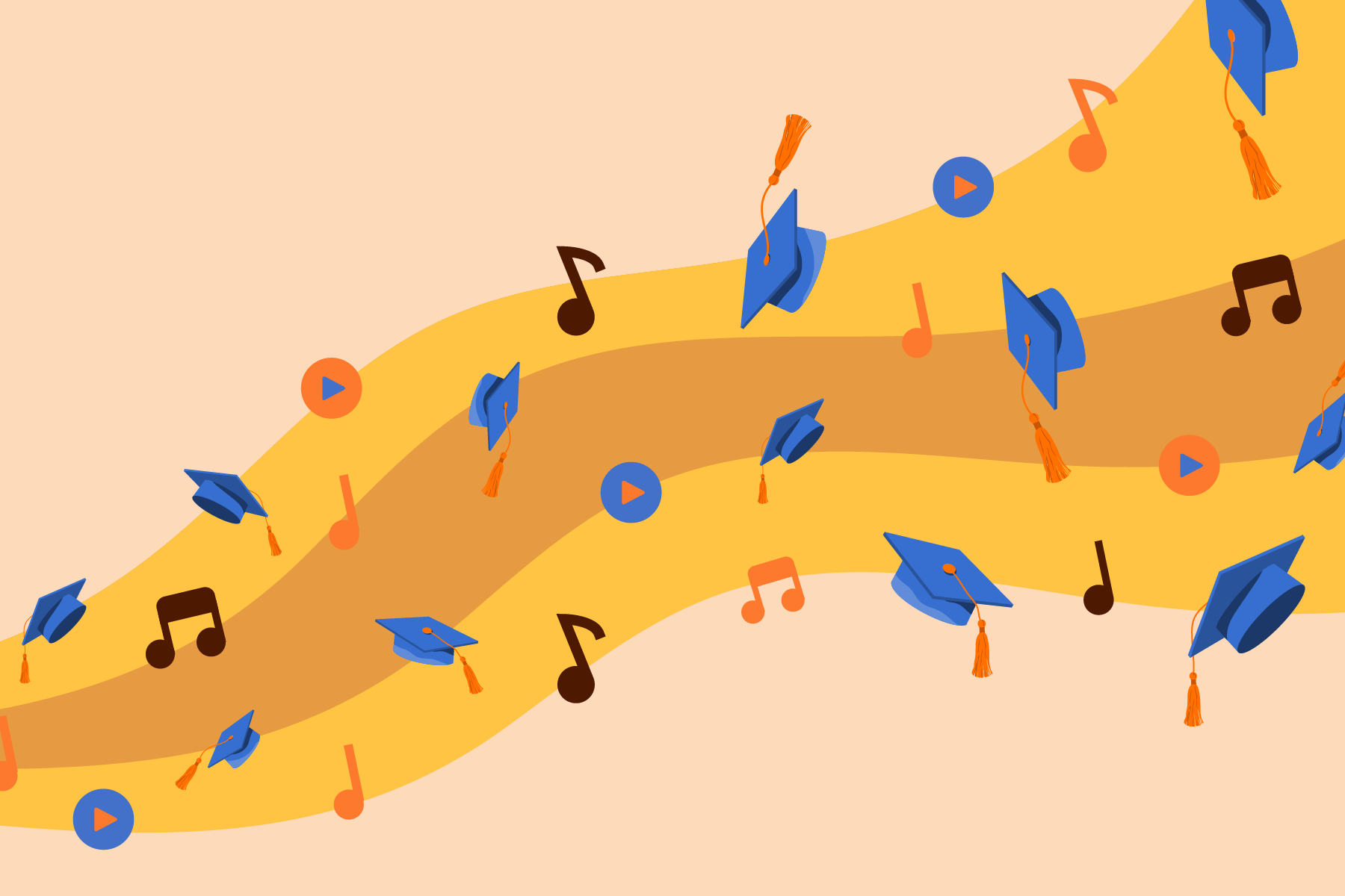 2021-05 Top-Songs for-Graduation-Slideshow-Videos Blog-Image