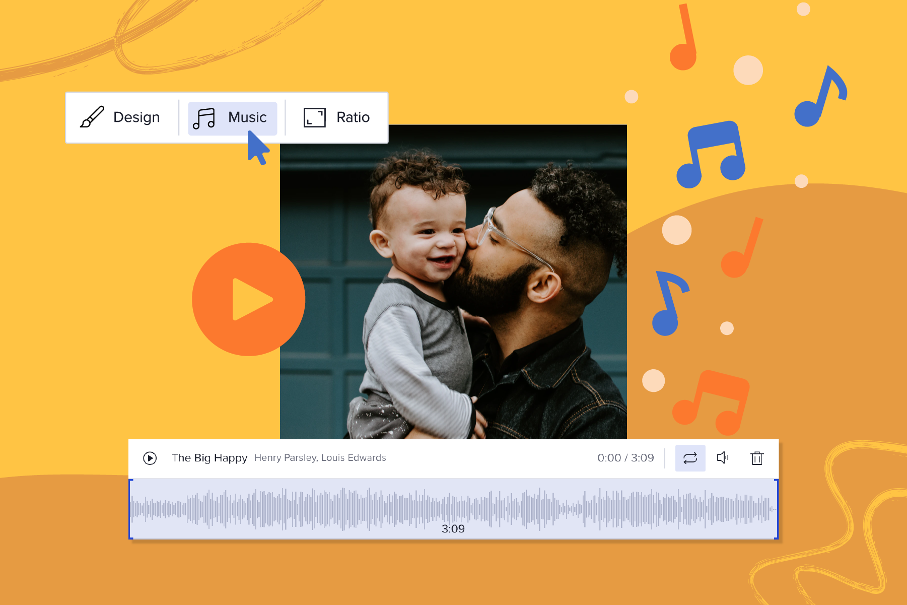 2021-05 Top6Songs-for-FathersDay-Videos Blog image